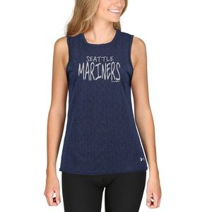 Seattle Mariners Muscle Performance Tank